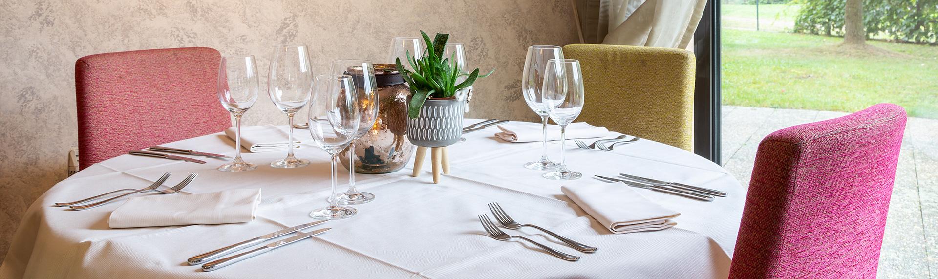 Restaurant gastronomique dans un cadre chaleureux près d'Obernai